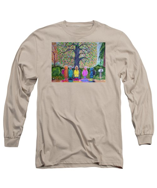 Waiting For The Bus Long Sleeve T-Shirt