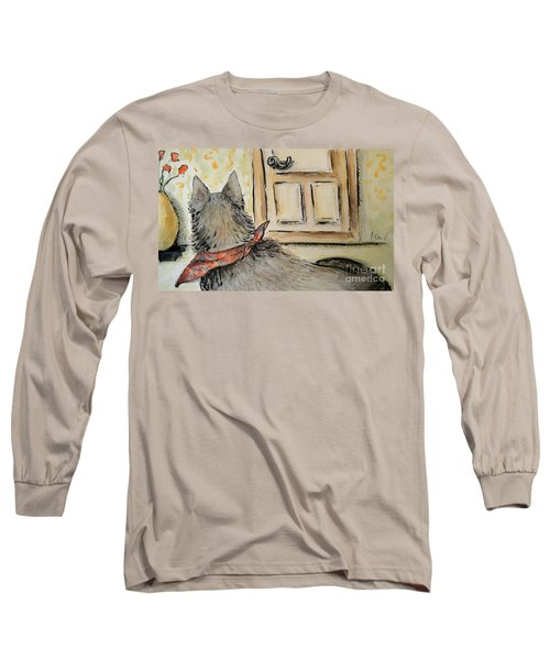 Waiting For The Humans Long Sleeve T-Shirt