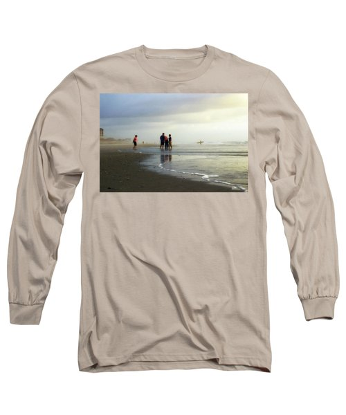 Long Sleeve T-Shirt featuring the photograph Waiting For The Sun by Phil Mancuso