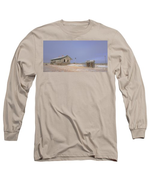 Waiting For The Train To Come Long Sleeve T-Shirt