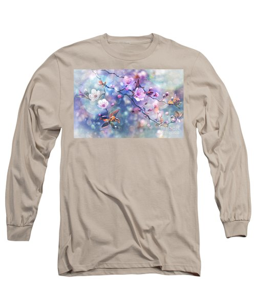 Waiting For Tomorrow Long Sleeve T-Shirt by Agnieszka Mlicka