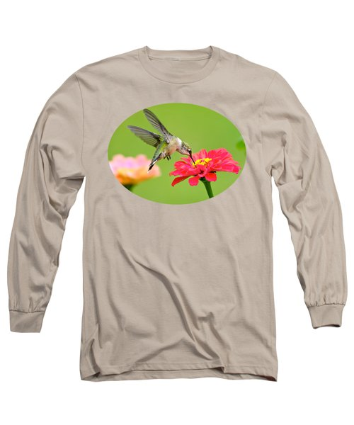 Waiting In The Wings Long Sleeve T-Shirt by Christina Rollo