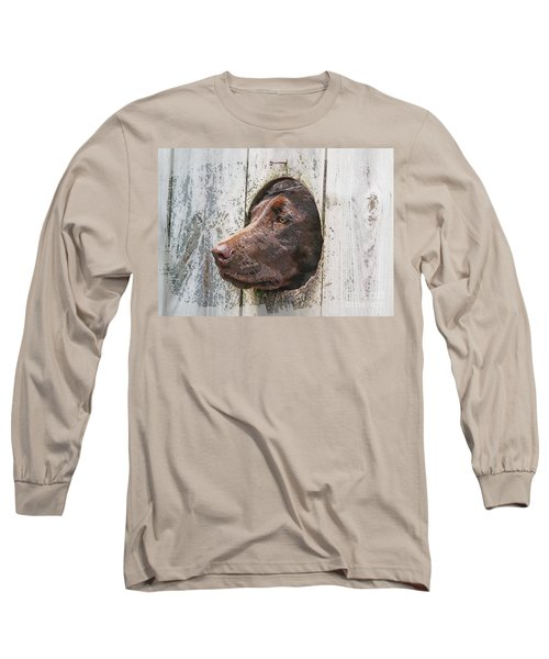 Long Sleeve T-Shirt featuring the photograph Waiting On Master by Robert Pearson