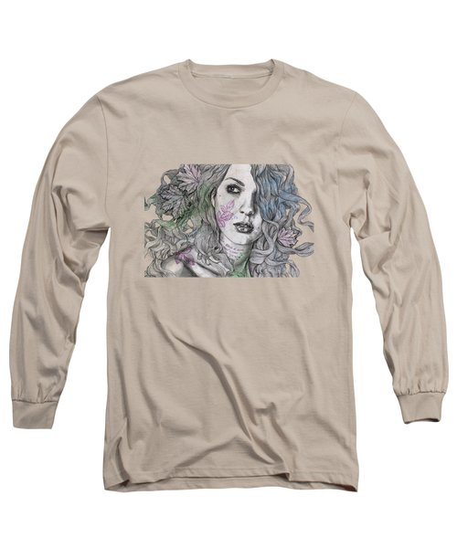 Wake Long Sleeve T-Shirt by Marco Paludet