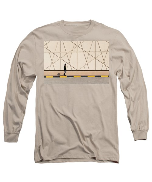 Walk The Line Long Sleeve T-Shirt