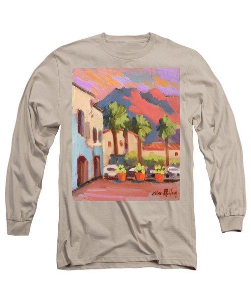 Walking Area In Old Town La Quinta Long Sleeve T-Shirt