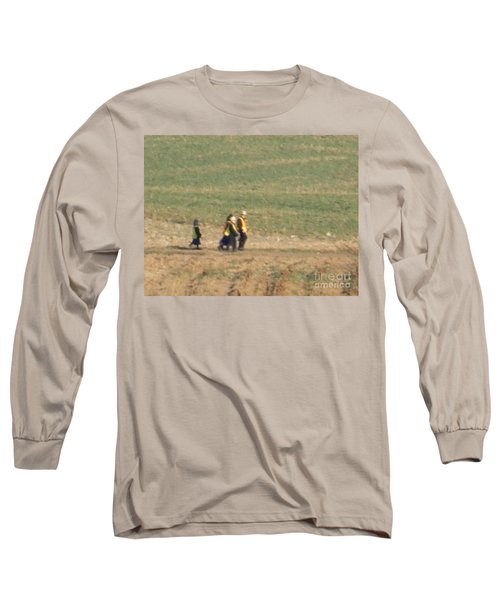 Walking Home Long Sleeve T-Shirt