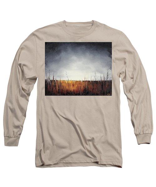 Walking, I Am Listening To A Deeper Way Long Sleeve T-Shirt by Carolyn Doe