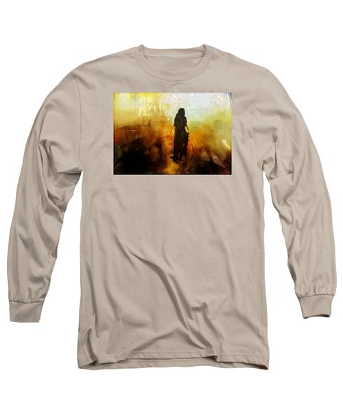 Walking Out From Chaos Long Sleeve T-Shirt