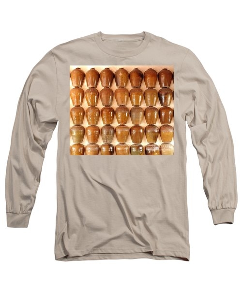 Wall Of Ceramic Jugs Long Sleeve T-Shirt