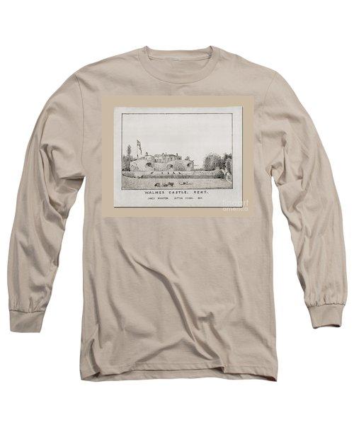 Walmer Castle Kent Long Sleeve T-Shirt