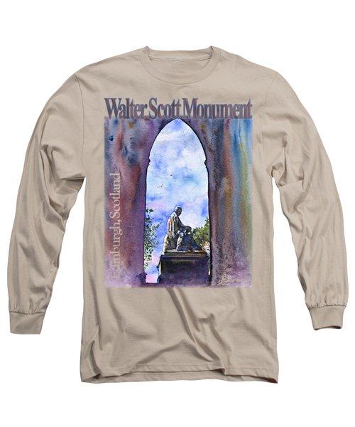 Walter Scott Monument Shirt Long Sleeve T-Shirt