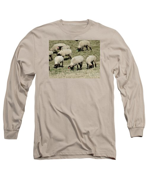 Long Sleeve T-Shirt featuring the photograph Wandering Wool by J L Zarek
