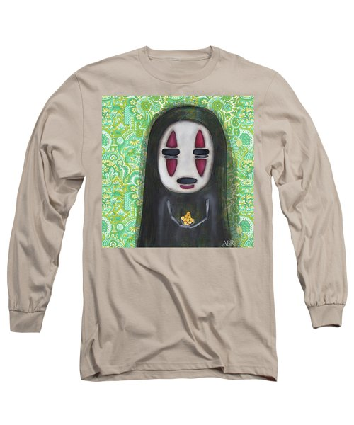 Want Gold Long Sleeve T-Shirt by Abril Andrade Griffith