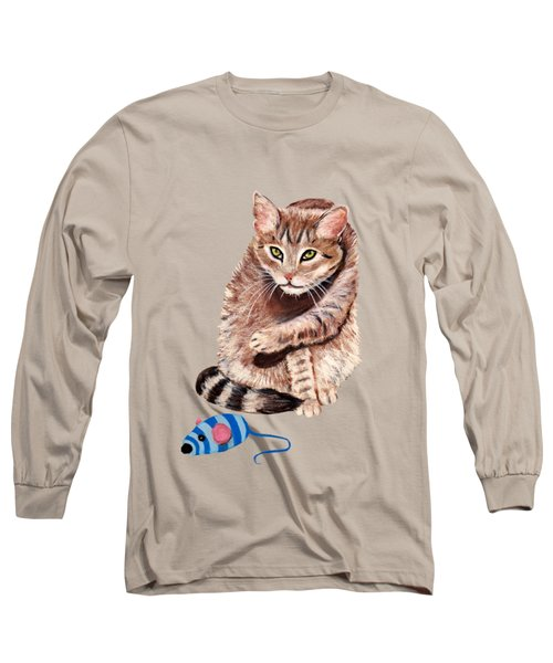 Want To Play Long Sleeve T-Shirt by Anastasiya Malakhova