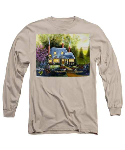 Warm And Cozy Cottage Long Sleeve T-Shirt