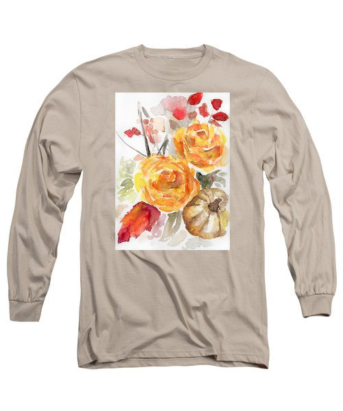 Warm Autumn Long Sleeve T-Shirt by Arleana Holtzmann