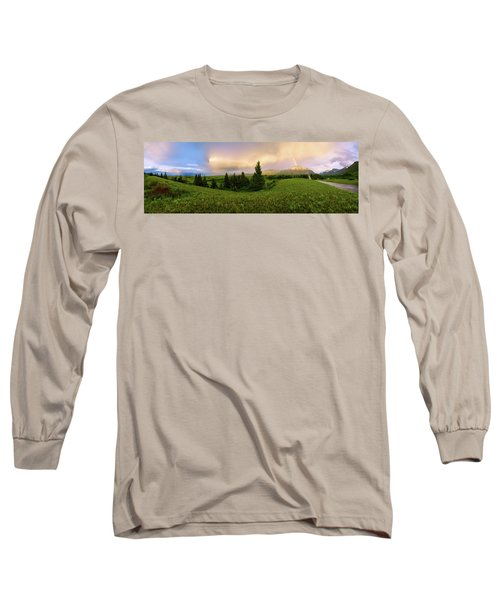Warm The Soul Panorama Long Sleeve T-Shirt