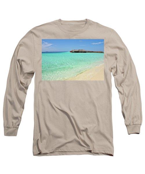 Warm Welcoming. Maldives Long Sleeve T-Shirt