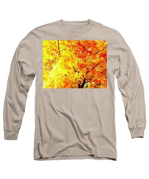 Warmth Of Fall Long Sleeve T-Shirt