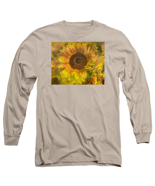 Washed In Sun Long Sleeve T-Shirt by Arlene Carmel