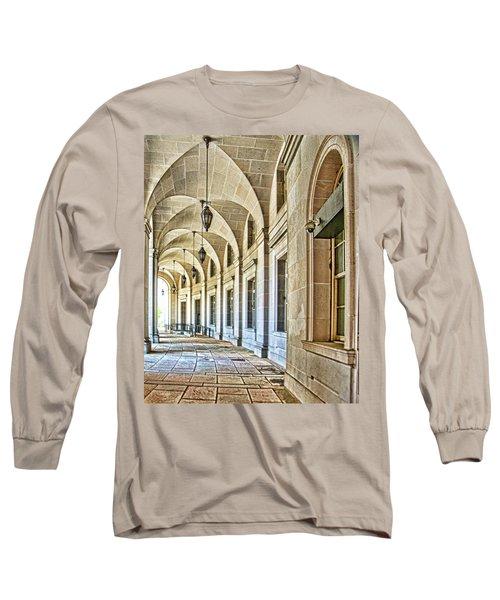 Washington D.c. Architecture Long Sleeve T-Shirt