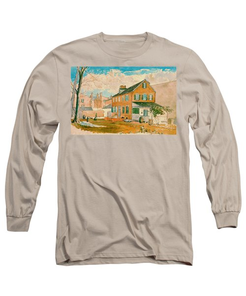 Washington D.c. Square 1874 Long Sleeve T-Shirt