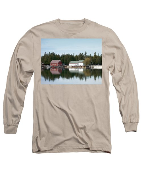 Washington Island Harbor 7 Long Sleeve T-Shirt