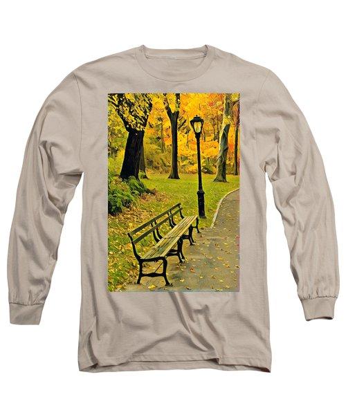 Washington Square Bench Long Sleeve T-Shirt