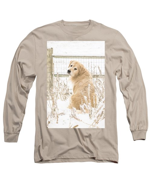 Watching It Snow Long Sleeve T-Shirt