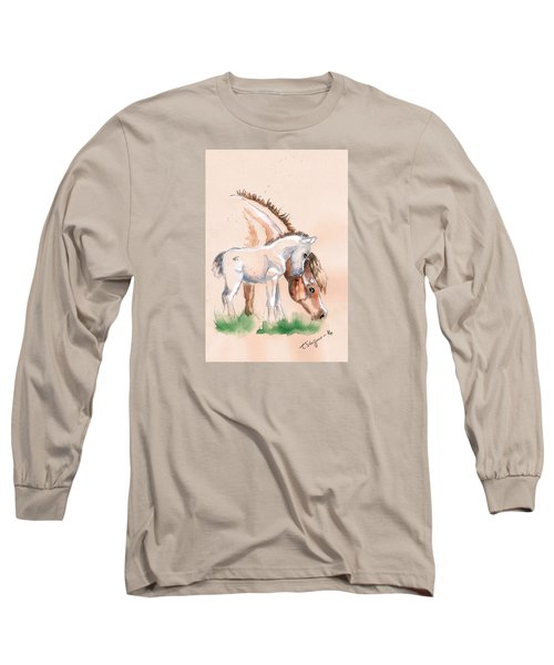 Watching Mum Long Sleeve T-Shirt