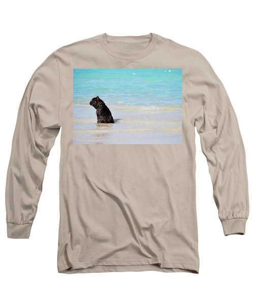 Watching The Waves Long Sleeve T-Shirt