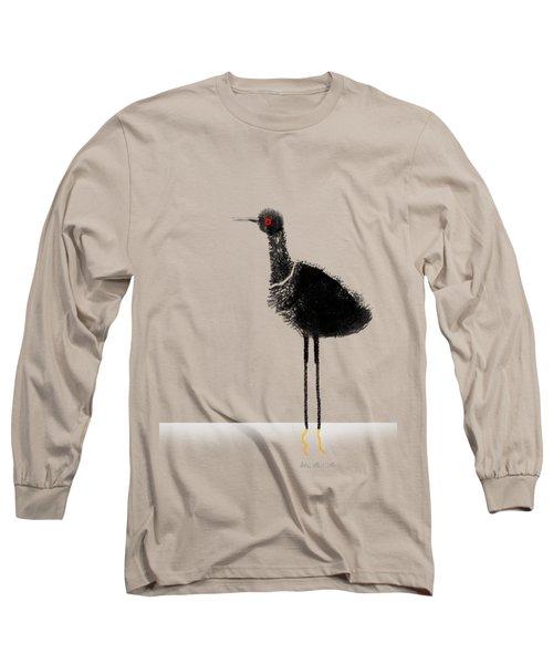 Water Bird Long Sleeve T-Shirt