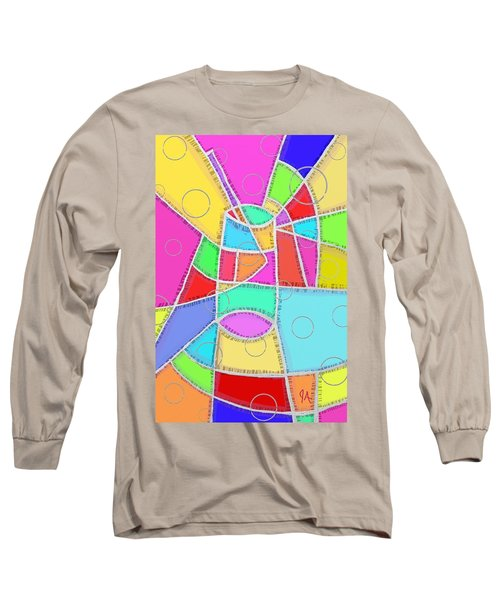 Water Glass Of Light And Color Long Sleeve T-Shirt by Jeremy Aiyadurai