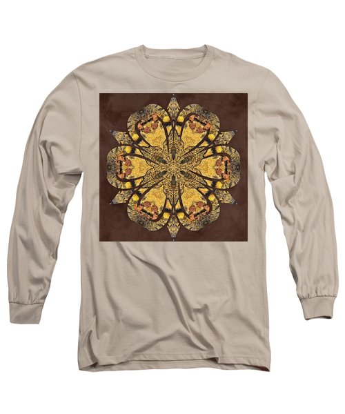 Long Sleeve T-Shirt featuring the mixed media Water Glimmer 1 by Derek Gedney