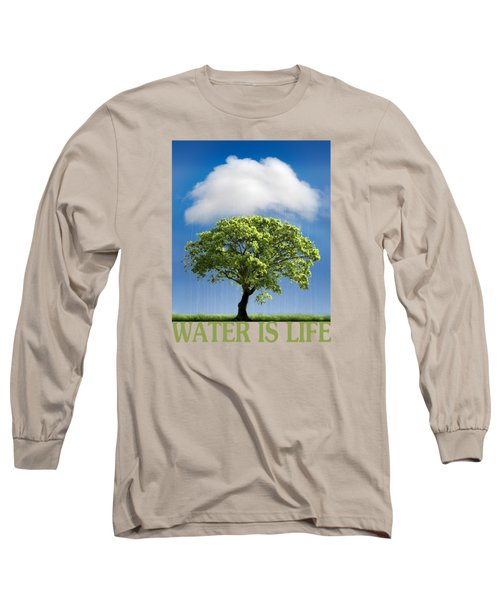 Water Is Life Long Sleeve T-Shirt