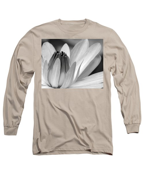 Water Lily Opening Long Sleeve T-Shirt