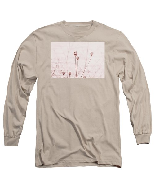 Water Plants Long Sleeve T-Shirt by Bonnie Bruno