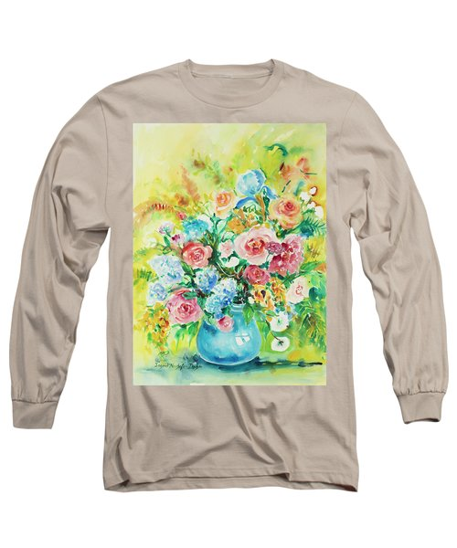 Watercolor Series 120 Long Sleeve T-Shirt