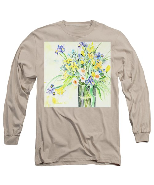 Watercolor Series 143 Long Sleeve T-Shirt