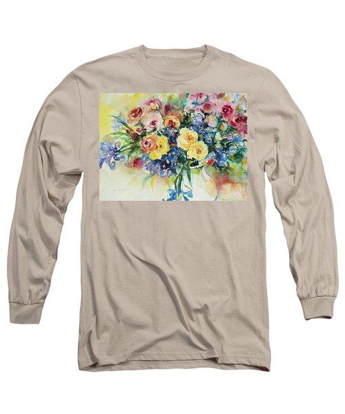 Watercolor Series 62 Long Sleeve T-Shirt