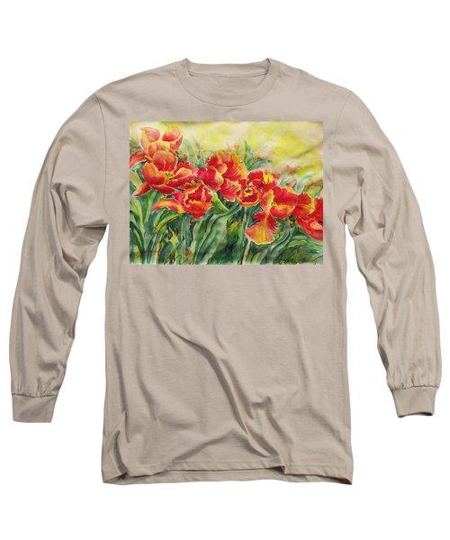 Watercolor Series No. 241 Long Sleeve T-Shirt