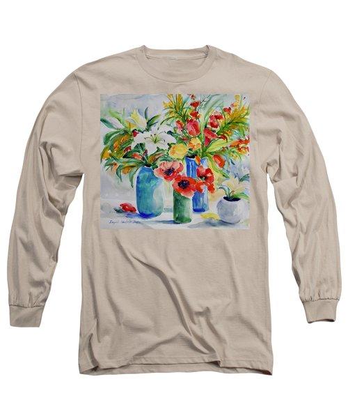 Watercolor Series No. 256 Long Sleeve T-Shirt