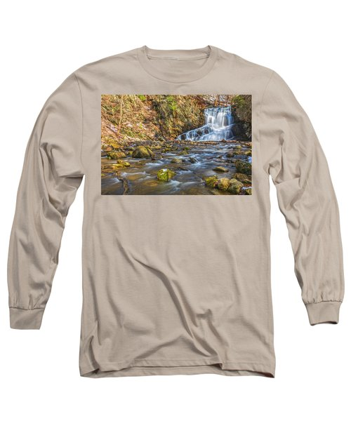 Waterfall Of April Snow Long Sleeve T-Shirt