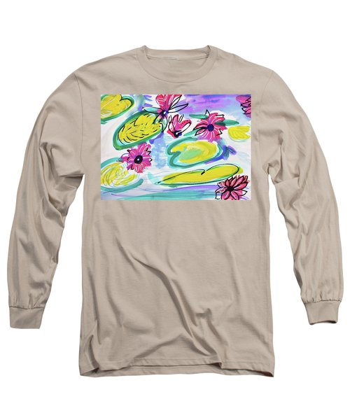 Waterlilies Long Sleeve T-Shirt