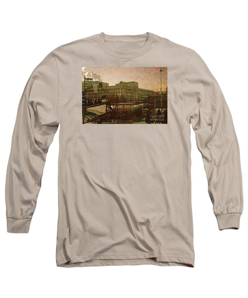 Long Sleeve T-Shirt featuring the digital art Watershed by David Blank