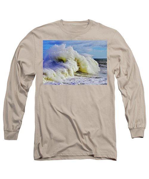 Moody Surf Long Sleeve T-Shirt by Michael Cinnamond