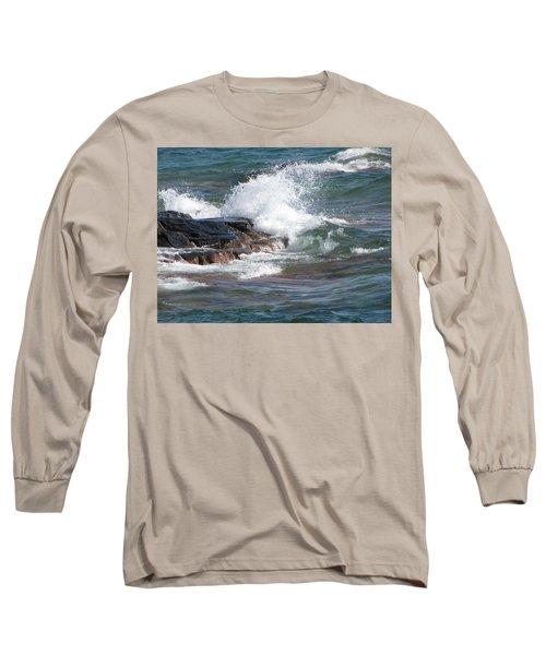 Wave Length Long Sleeve T-Shirt