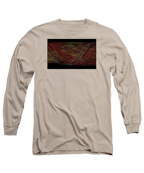 Abstract Visuals - Wavelengths Long Sleeve T-Shirt by Charmaine Zoe