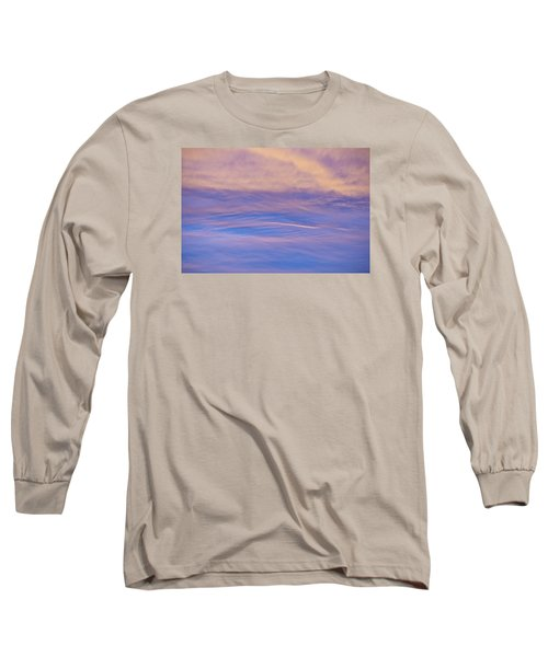 Long Sleeve T-Shirt featuring the photograph Waves Of Color by Wanda Krack